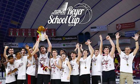 La sostenibilità negli eventi sportivi – Green Sustainability SAVE Reyer School Cup 2019